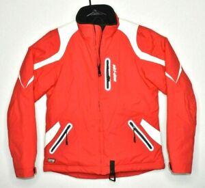 Ski-doo-BRP-RPM-Women-039-s-Snowmobile-Full-Zip-Jacket-Winter-Coat-Race-wear-Small
