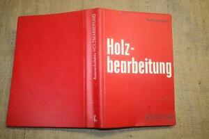 Fachbuch-Holzbearbeitung-Holztechnik-Maschinenkunde-Tischler-DDR-1977