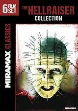 The Hellraiser Collection: 6 Film Set (DVD, 2014, 2-Disc Set) Fast Free Shipping