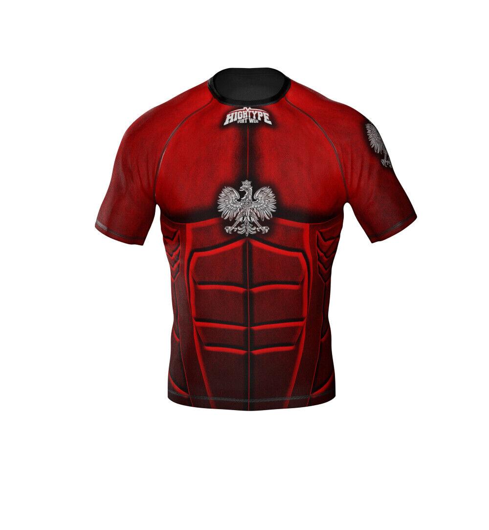 HighType Polska Rash Guard or Fight Shorts MMA BJJ Fightwear