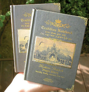 ANTIQUE-STYLE-MAGIC-HANDY-Diary-Journal-Weekly-Planner-Monthly-Scheduler