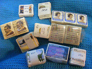 Lot-of-14-BUNDLES-New-Zealand-pictorial-commemorative-Stamps-Bundleware-Mixture