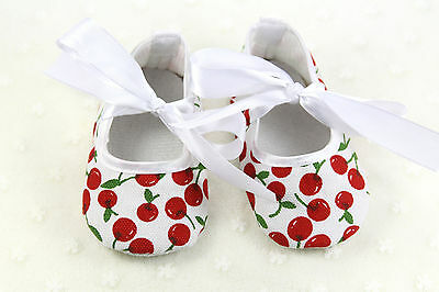 First Walkers Soft Sole Baby Shoes 3-14 months Hot sale Genius Baby Cherry
