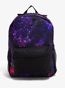 Purple /& Pink Galaxy Backpack
