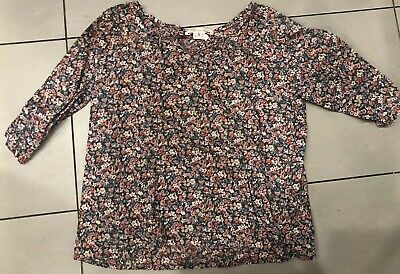 SPROCKETS Girls 4T Zip Front Hooded Long Sleeve Jacket Shirt NWT Blue Floral