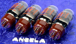 Matched-Quad-4-Groove-Tubes-GT-KT66-C-29mA-Brand-New-Tested-amp-Guaranteed-Set