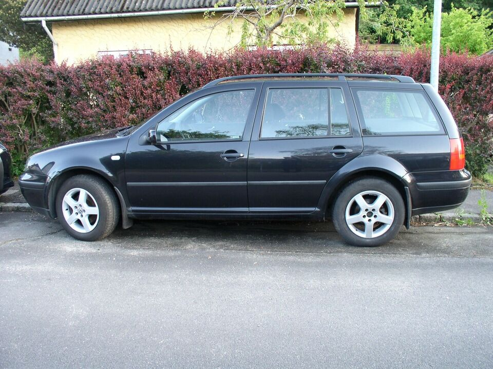 VW Golf IV, 1,6, Benzin