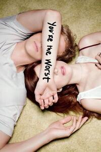 "002 Youre the Worst - Aya Cash Chris Geere USA TV Show 24""x36"" Poster"