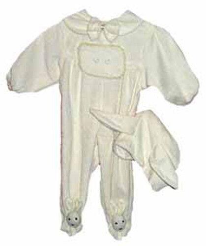 "NIP-cream bunny sleeper for 22/"" dolls including Pat Secrist Apple Valley Dolls"