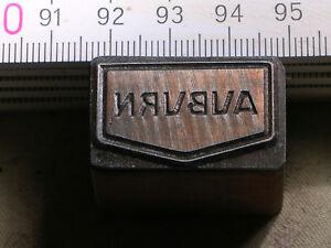 AUBURN-LOGO-schoener-Oldtimer-Stempel-Siegel-aus-Metall