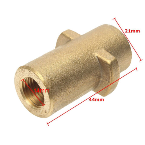 "High Pressure Washer Quick Connector Connection Adapter 1//4/"" Replacement Spare"