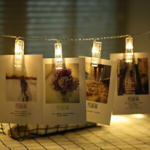 Christmas-LED-Garlands-Card-Photo-Clips-Led-String-Fairy-Lights-Battery-Operated
