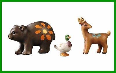 Fairy Garden Fun Chipmunks Set Of 3 Mini Animal Miniature Dollhouse Figurines