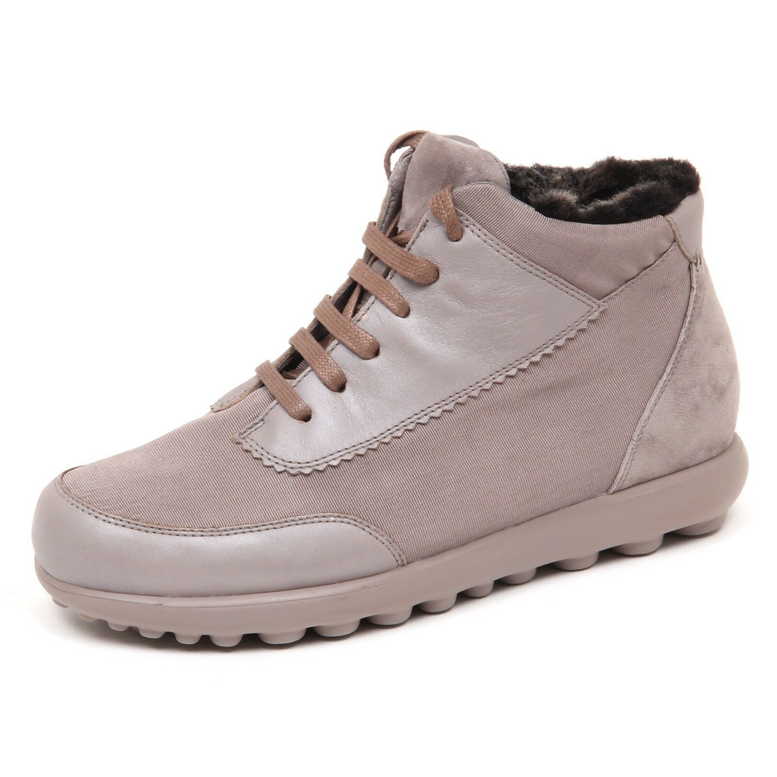 D9156 (without box) sneaker donna CON PELO DENTRO CAMPER   shoe woman