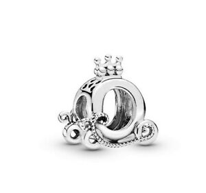 2019-Autumn-925-Sterling-Silver-Bead-Polished-Crown-O-Carriage-Charm