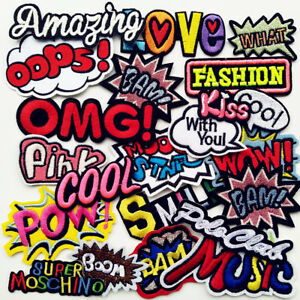 Mix-Assorted-Sew-on-Iron-on-Embroidered-Patch-Diy-Craft-Clothes-Applique
