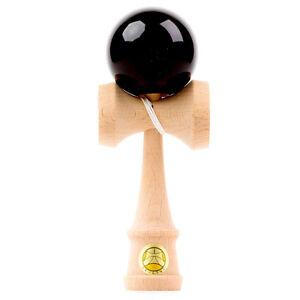 Ozora Kendama - Black - Classic Wooden Skill Toy - OZ019
