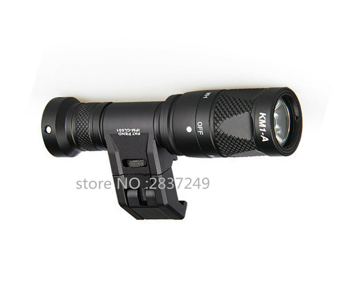 Tactical IFM CAM LED Flashlight With Rigid Light Mount