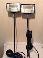 New Two 150w Halogen Spot Lights For Trade Show Display