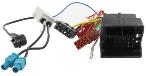 VW Touareg cd radio estéreo unidad principal ISO Arnés De Cableado Adaptador De Plomo CT20VW05