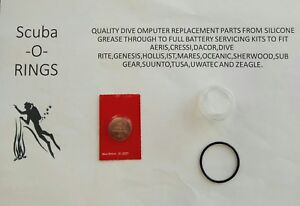 X6HR and G6 Wrist-top Watches Battery Kit for Suunto Observer X6