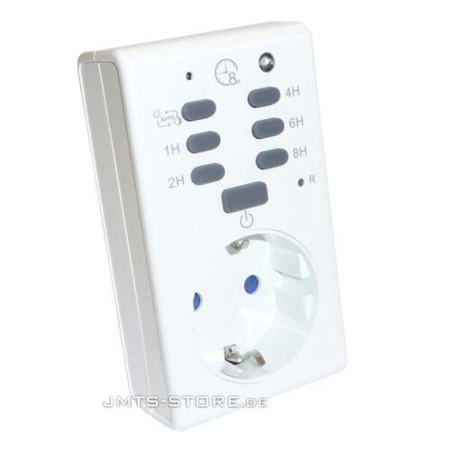 Universal Crépuscule Interrupteur Capteur de lumière entre Interrupteur Minuterie Horloge compte à rebours