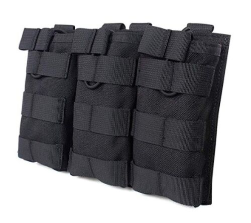 magazine pouch triple clip carrier holder outdoor hunting travel surivial 3Bags
