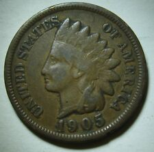 1905 Indian Head Cent in Average Circulated Dutch Auction