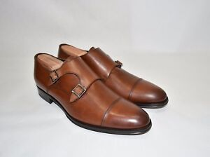 Details about New! To Boot New York 'Medford' Double Monk Strap Shoe Cognac Leather 9.5 $395
