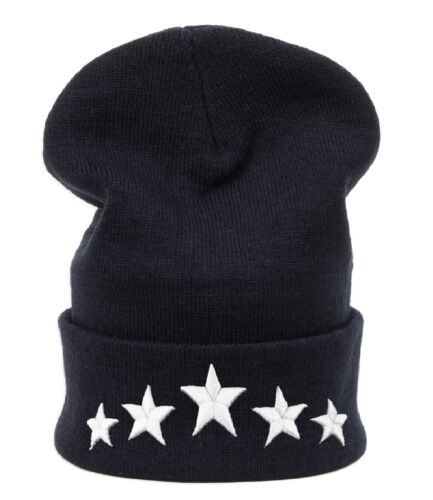 Winter Beanie Hat Star Men Ladies Knitted Woolly Oversized Slouch Warm Cap 23