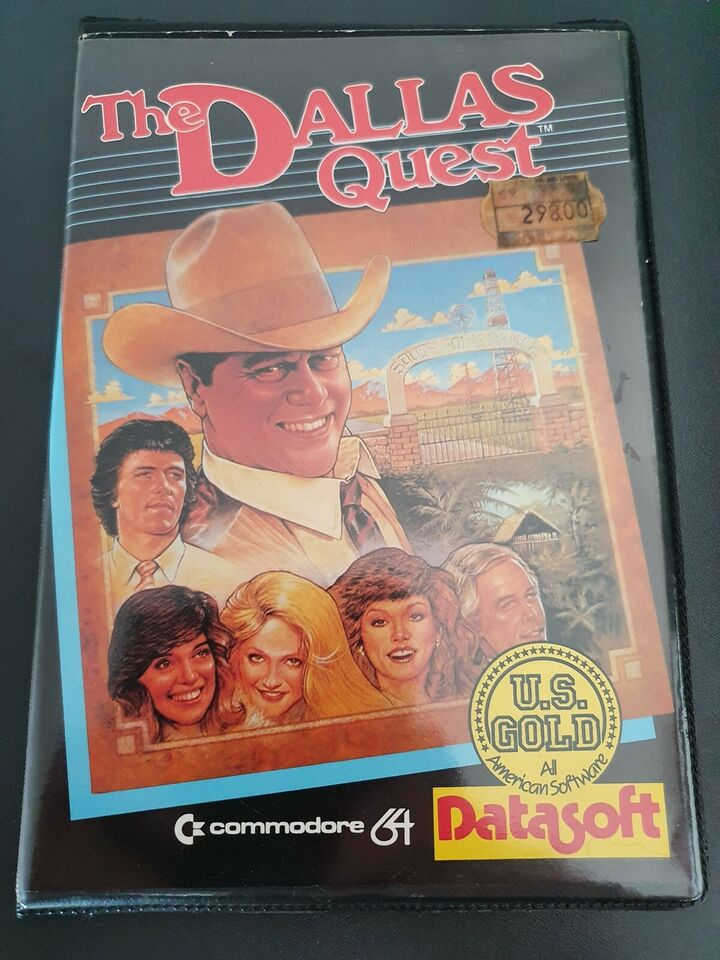 The Dallas Quest [Disk komplet i wallet], Commodore 64