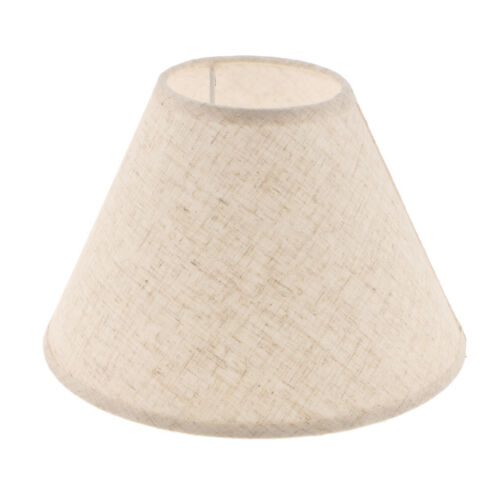 2x Bedside Lamp Light Shade Cover Fabric Lampshade for Home Study Office Cafe