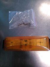 """LED LIGHT 1""""X4"""" RECT AMBR 12-D, SMR104012A 12 diod led lamp (qty of 10)"""