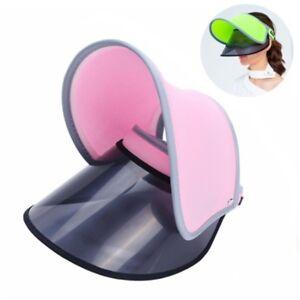 New-Outdoor-Summer-Women-Wide-Brim-Hat-Cap-Sun-Visor-Cap-UV-Protection-Hat-G9A