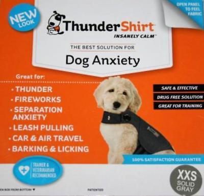 Thundershirt Xxs Dog Anxiety Grey Solid Grey Camouflage Thunder Shirt Ebay