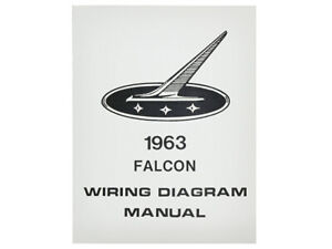1963 Falcon Wiring Diagram Manual Electrical Schematic ...