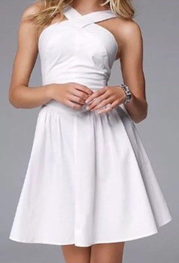 Victoria's Secret White Crisscross Dress size 4 Never Worn