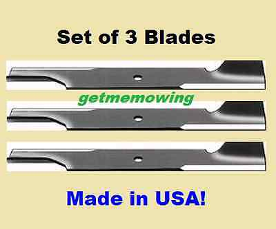 "3-Blades For 61"" Scag A48111, 48111, 481708, 482879"