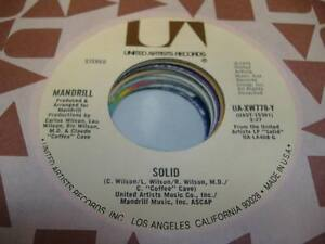 Soul-UNPLAYED-NM-45-MANDRILL-Solid-Disco-Lypso-on-United-Artists
