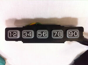 Oem New 2009 2014 Ford F 150 Keyless Entry Keypad Buttons