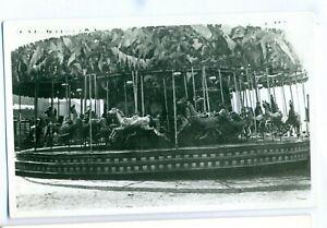 FF-0009-Strung-Horse-amp-Cockerals-Carousel-Vintage-Photograph