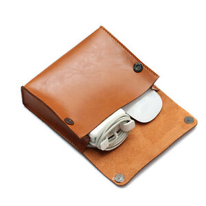 Laptop-Leather-Case-Pouch-Bag-for-Apple-Macbook-Surface-Pro-3-4-Mouse-Charger-BL