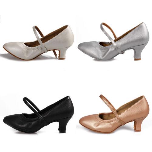 Most Popular High Heels Modern Dance Shoes for Women//Ladies//Girls Tango 4 Colors