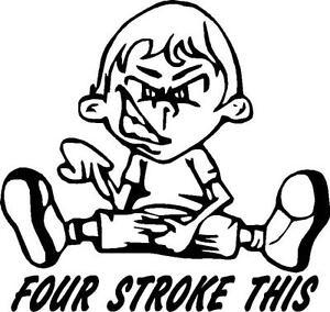 Stroke This Dirt BikeEnduroMotorcycle Sticker EBay - Motorcycle stickersmotorcycle stickers ebay