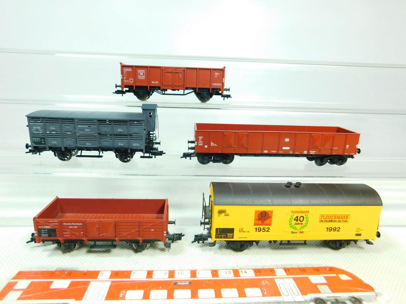 BT509-1 x Fleischmann H0 Dc Freight Car  Db + DRG + K.Sächs.sts.e.b ,Good 2.