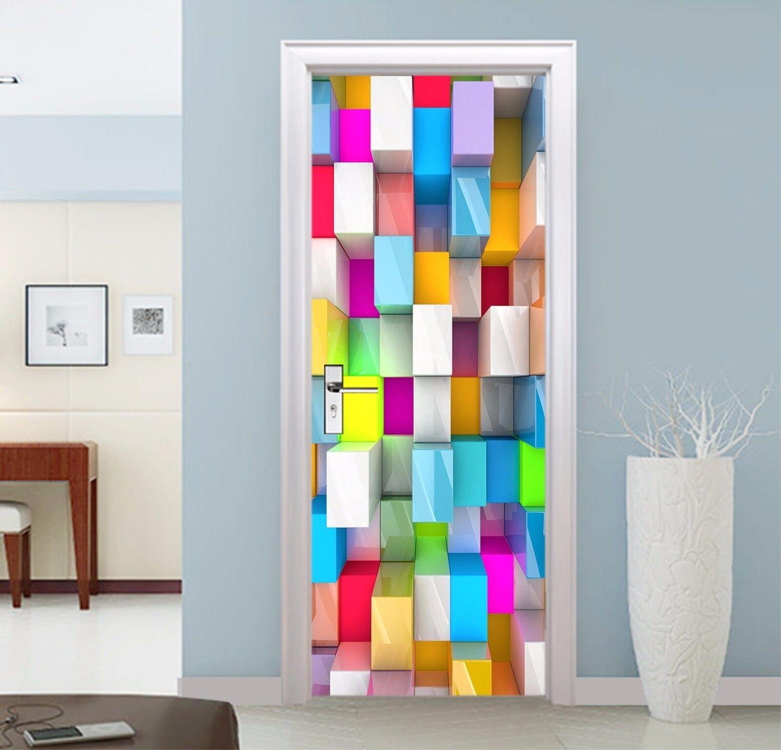 3D Farbe Gitter 746 Tür Wandmalerei Wandaufkleber Aufkleber AJ WALLPAPER DE Kyra  | Verschiedene aktuelle Designs  | Preisreduktion  | Sale Online