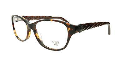 Anna 557 113 Come Sui Occhiali Occhiali Rx Ottico Montature + Custodia + Panno- Belle Arti