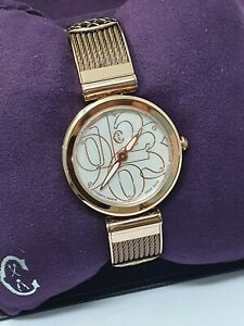 Authentic Brand New Charriol Forever Watch in Rose Gold and Bronze