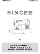 Singer 14T970C Sewing Machine/Embroidery/Serger Owners Manual