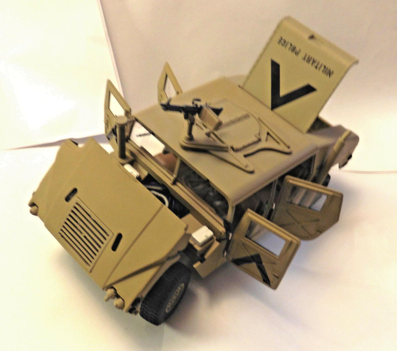 RARE Exoto AM General Humvee 1995, Military Desert Storm (Battle Sand),1 18,mint